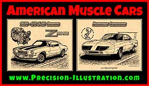 K Scott Teeters Muscle Car Art
