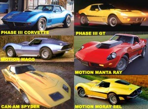 Baldwin Motion Corvettes