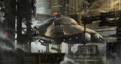 nazi-saucer pic from movie iron sky