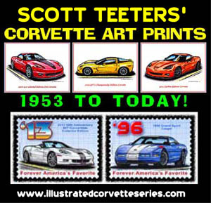 Scott Teeters Corvette Art