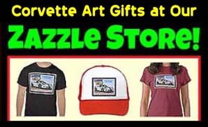 Corvette Art Gifts