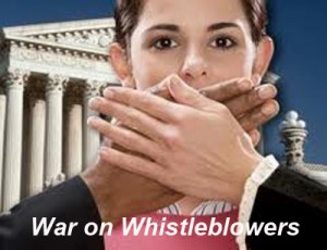 war on whislteblowers