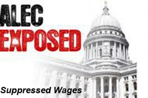 suppressed wages