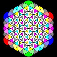 flower of life- color