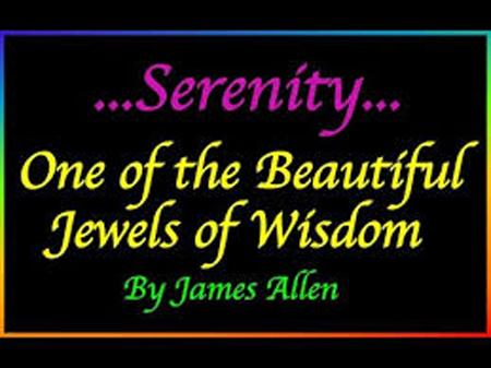 serenity. james allen