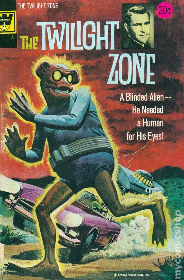 twight zone book